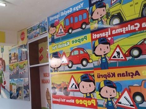 Trafik Eğitimi ve Akıl-Zeka Oyunları Koridoru Oluşturuldu