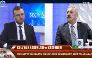 Belediye Başkanı Galip Polat Kanal 42'nin Konuğu Oldu