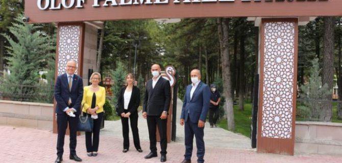 İsveç'in Ankara Büyükelçisi Staffan Herrström, Kulu'da ziyaretlerde bulundu